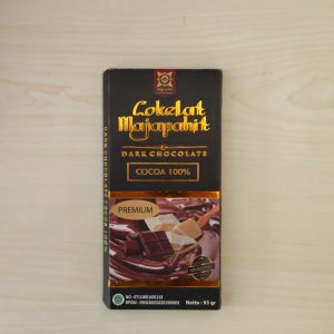 Dark Chocolate 100% 93 Gr Cokelat Majapahit