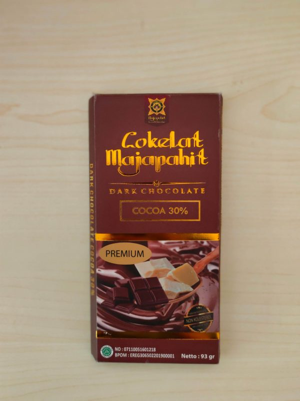 Dark Chocolate 30% 93 Gr Cokelat Majapahit