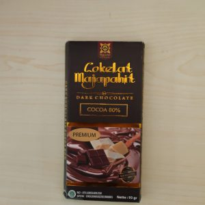 Dark Chocolate 80% 93 Gr Cokelat Majapahit