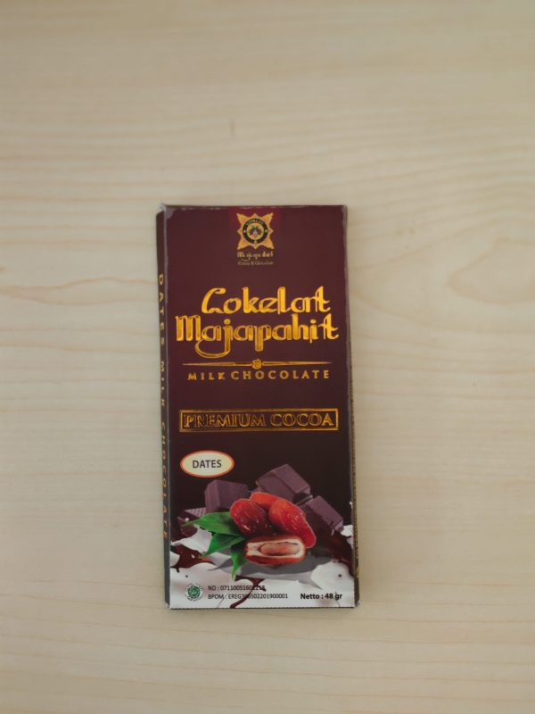 Dates Milk Chocolate Cokelat Majapahit